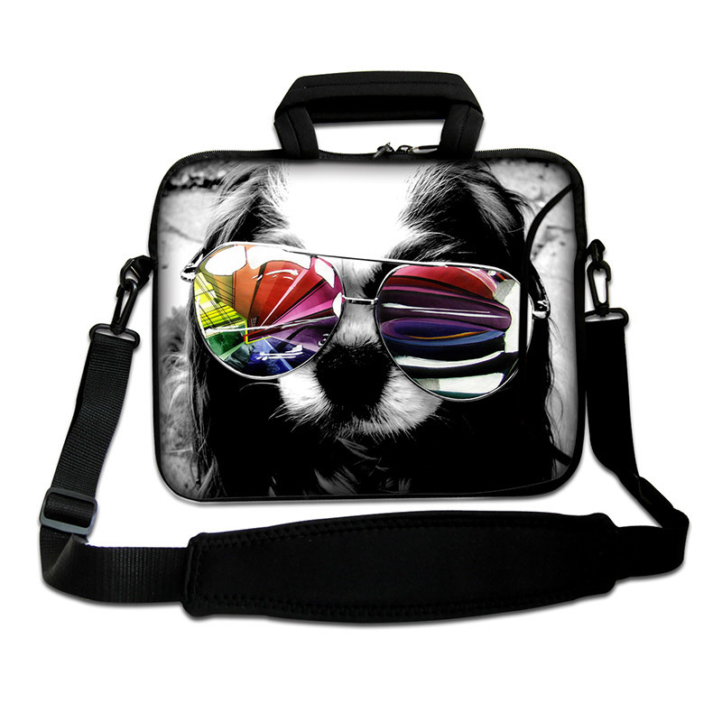 Neoprene Laptop Bag Case Shoulder Strap