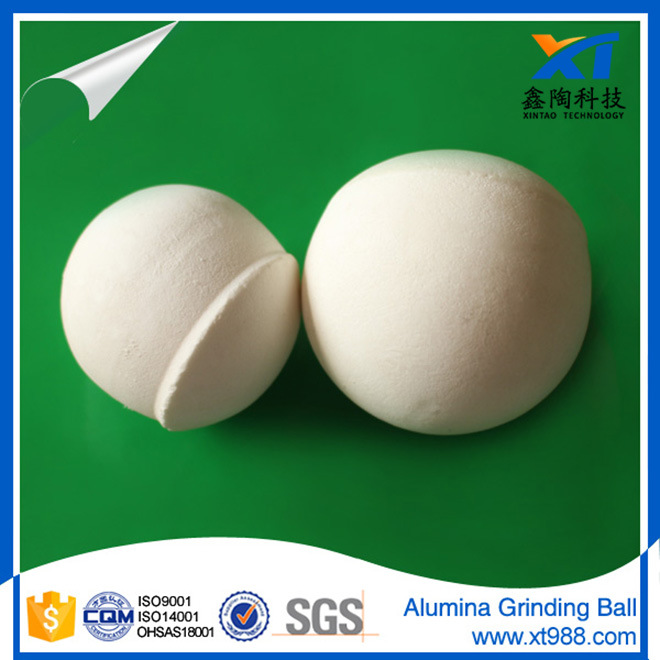 High Alumina Grinding Ball (92%, 95% Al2O3) with ISO 9001: 2009 Certificate From 0.5mm-100mm pictures & photos