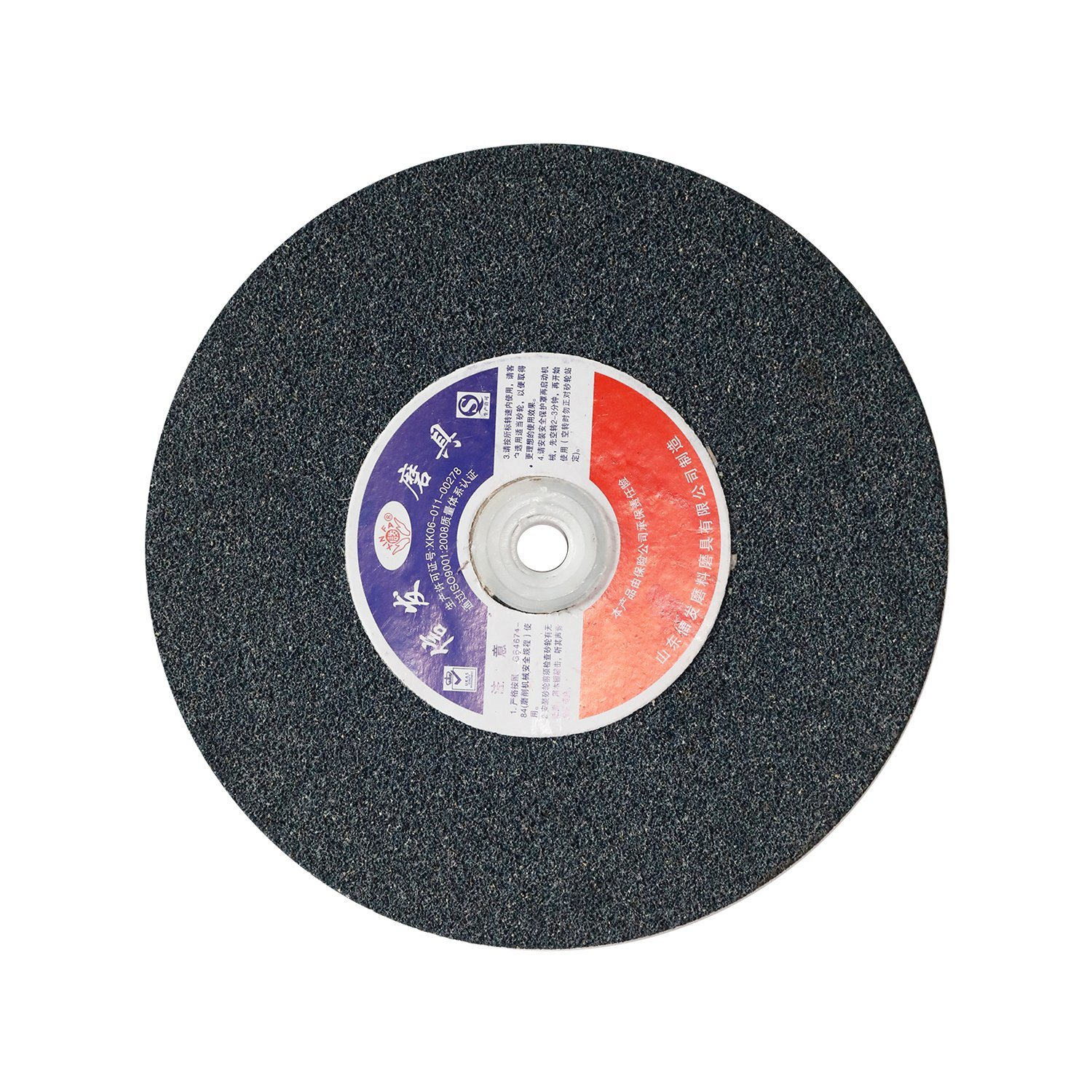 12 Units Non-Woven Finishing Disc 6000 RPM 5 in Disc Dia 5//8-11 in Ctr Hole THD Aluminum Oxide