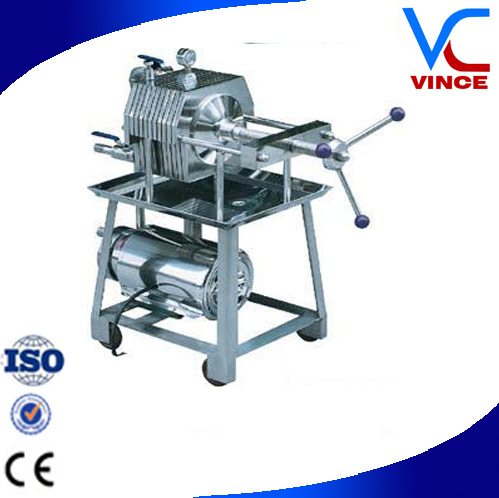 China Stainless Steel Plate and Frame Filter Press for Wine - China ...
