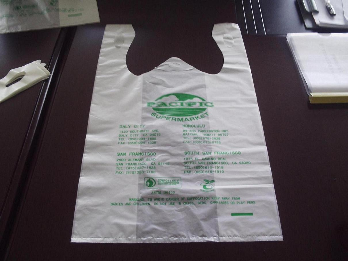 China Biodegradable Compostable Corn Starch Bag China