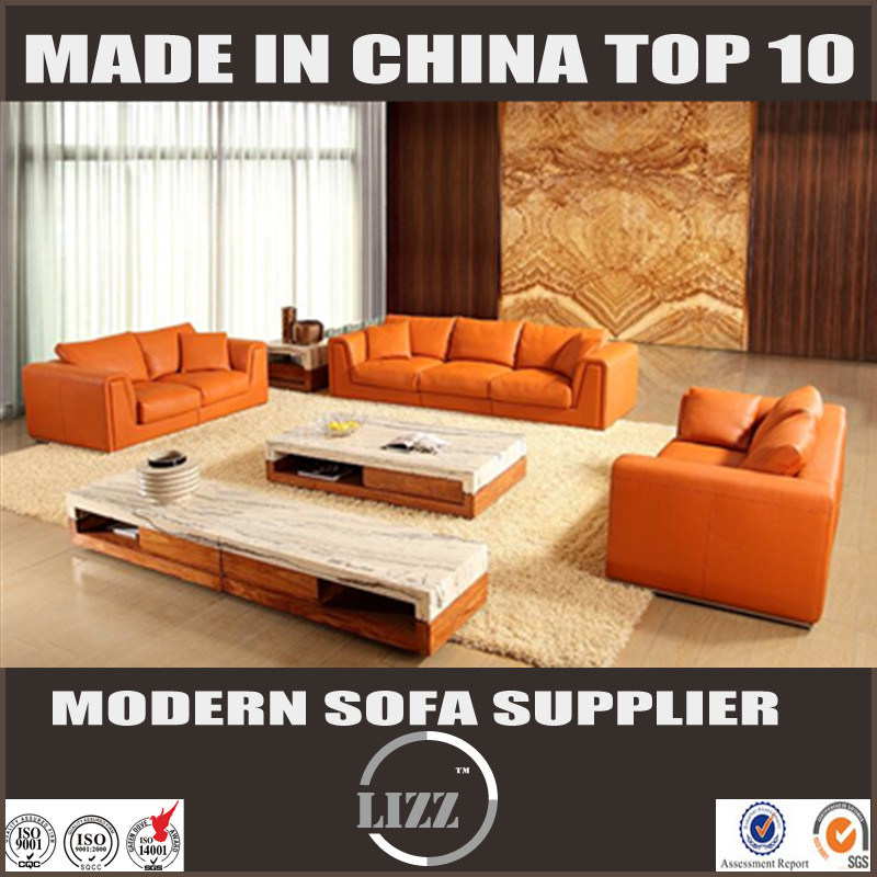 [Hot Item] New Arrival Modern Sectional Leather Sofa (Lz705)