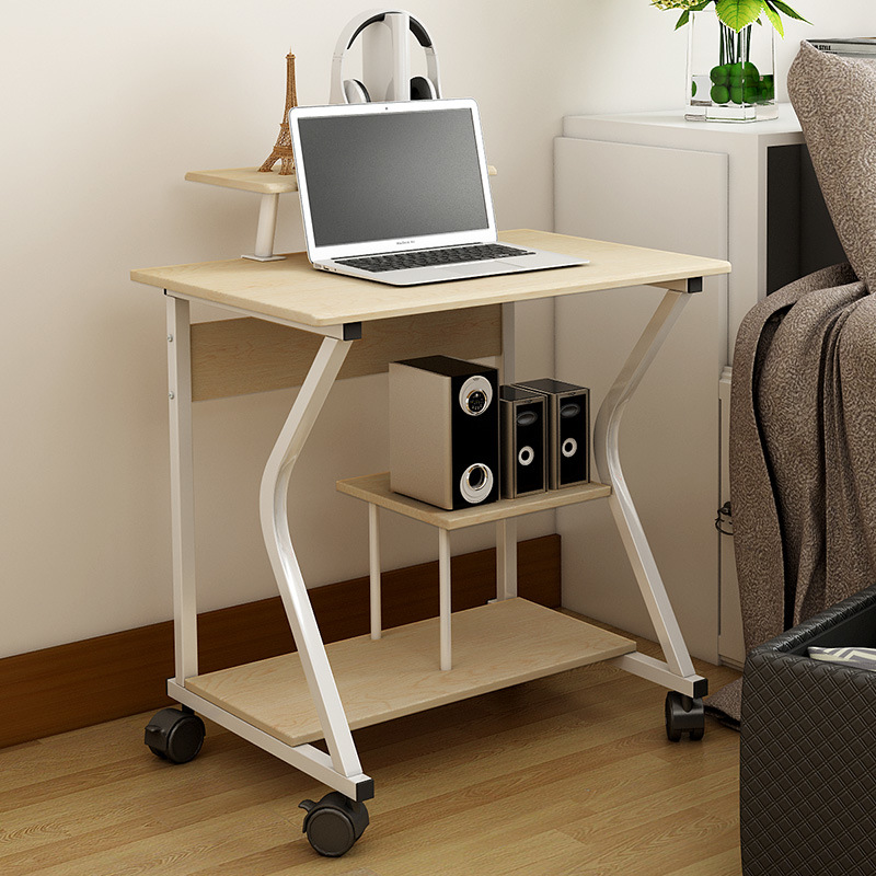 China Home Office Furniture Mobile Computer Table For Study Desk Writing