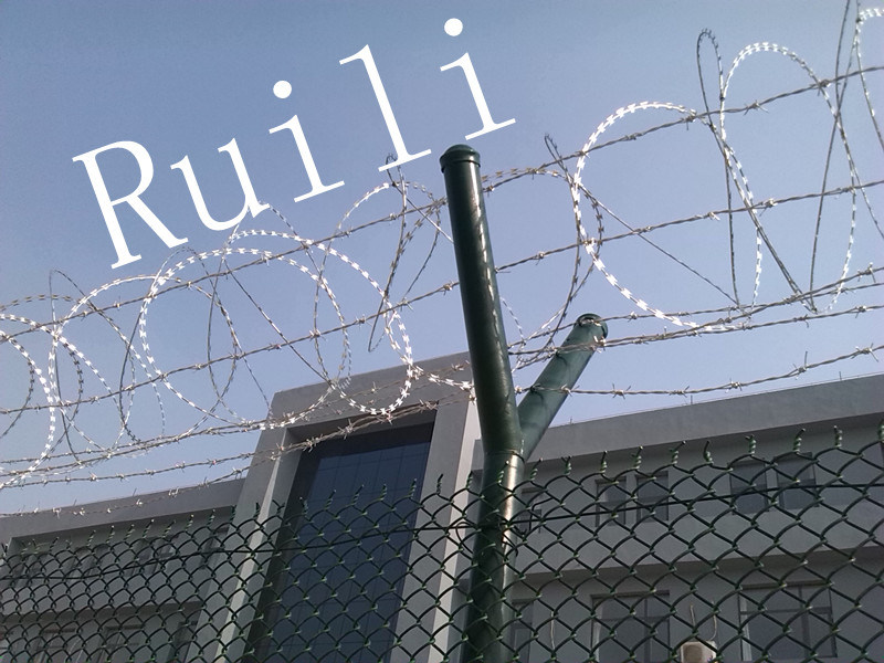 China Security Razor Wire Mesh Fencing, Concertial Razor Cross Wire ...