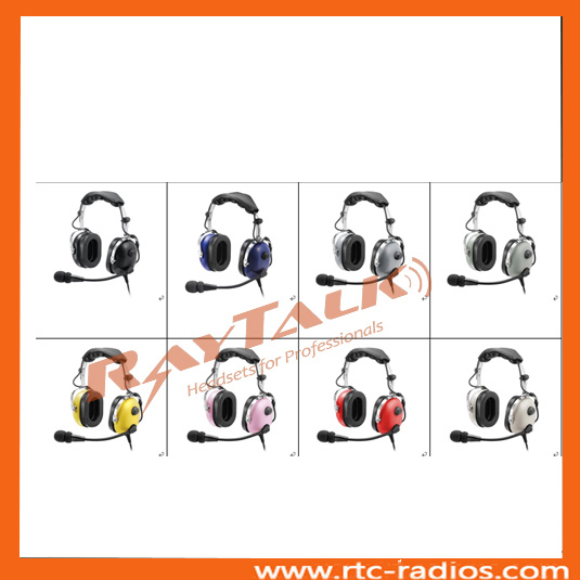 29134af03f1 China Raytalk Colorful Aviation Headphones with Electret Mic - China ...