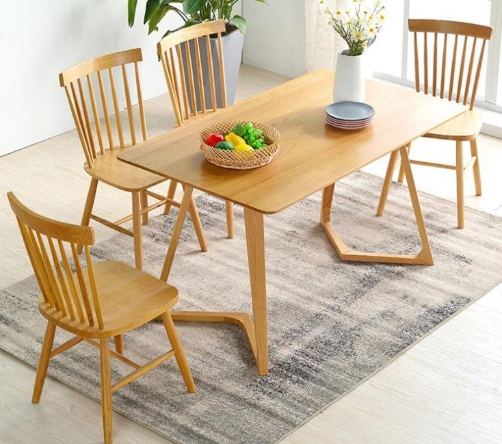 China Scandinavian And Contemporary, Modern Oak Dining Room Chairs