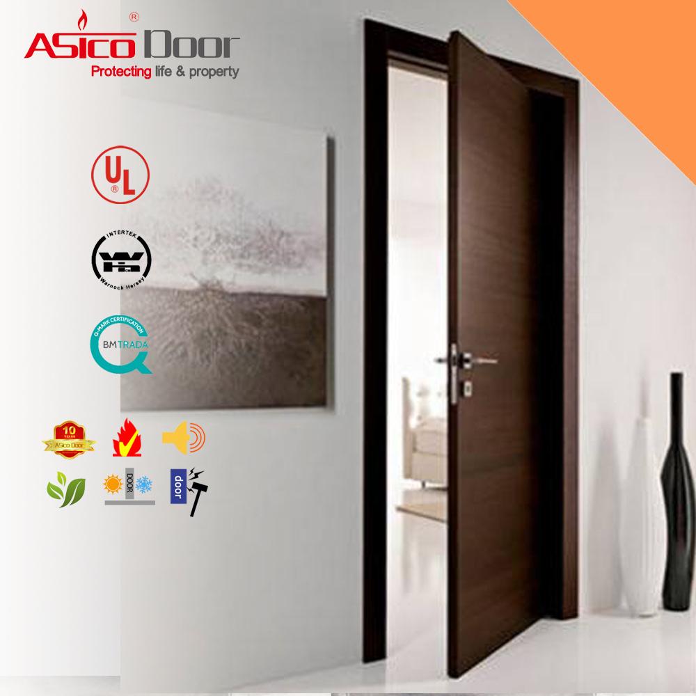 China Interior Doors Fire Proof Wooden Door Used For Hotel School