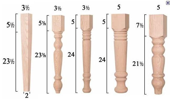 China Table Legs Wood Dining Leg