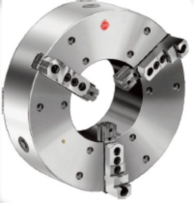 Large Diameter 3-Jaw Self-Centering Chucks, Steel Body