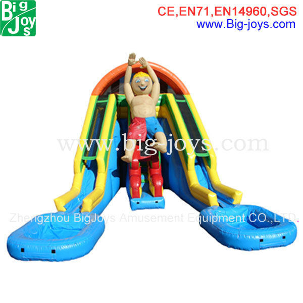 China Inflatable Water Slides Slide Clearance Bj W55 Giant Custom