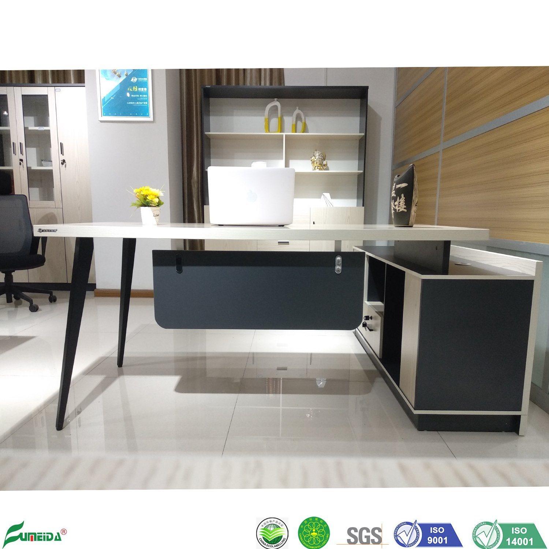 China Latest Style Chipboard Desk