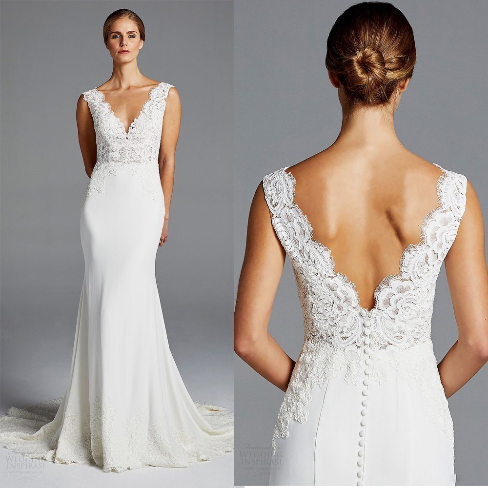 Lace Wedding Dresses Custom Spandex