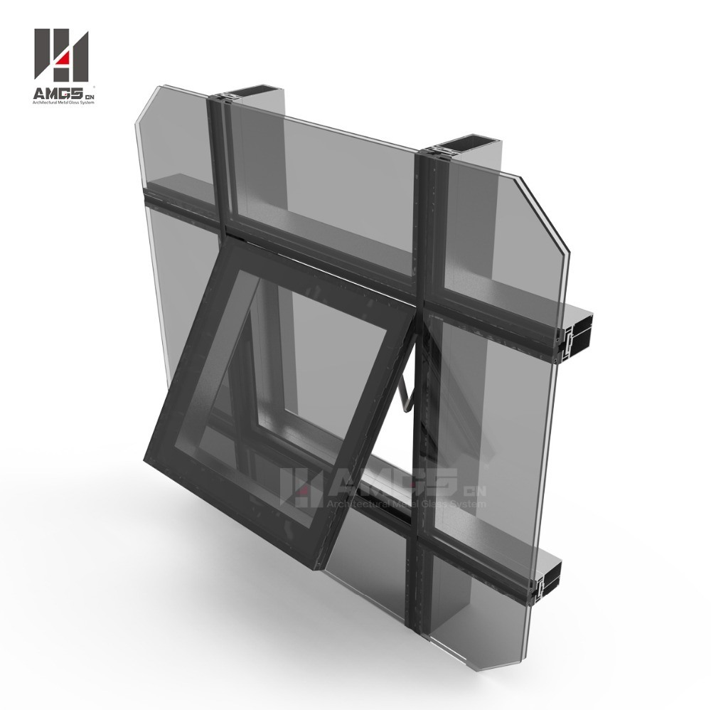shop systems services walling fronts technical horizon wall curtain aluminium