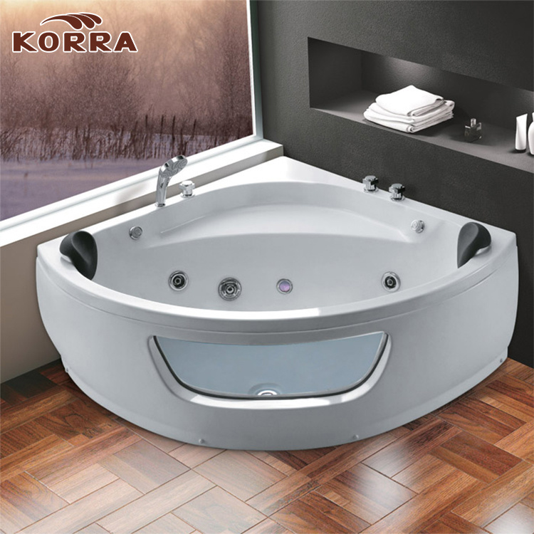 China Massage Bathtub / Jacuzzi with Water Massage and LED Light ...
