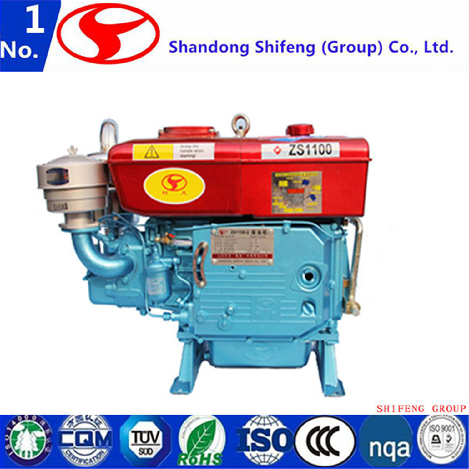 China Single Cylinder /Air-Cooled/Direct Injection/4-Stroke Diesel ...