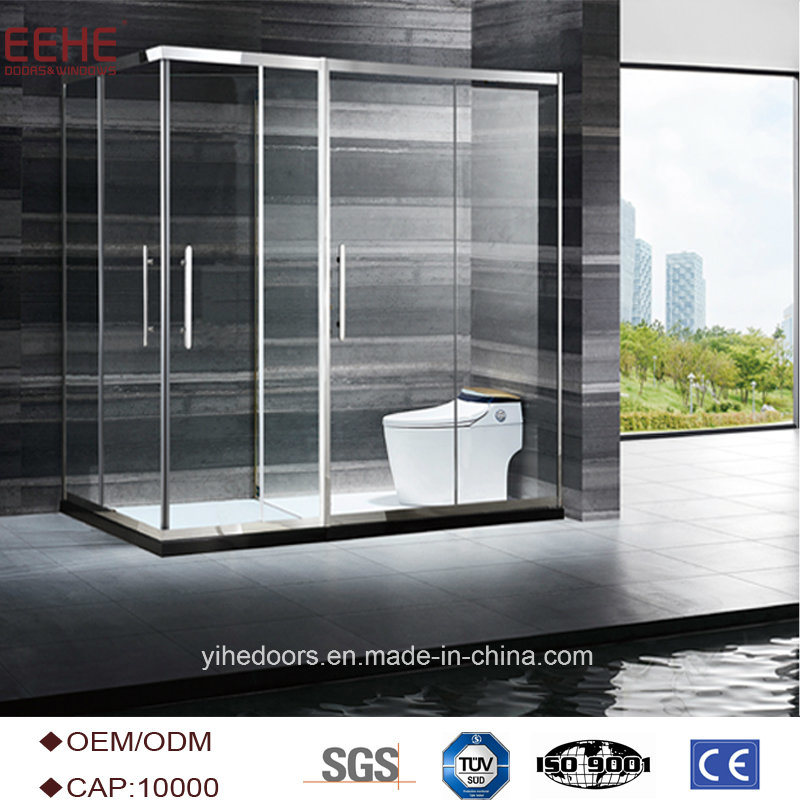 Chinese Supplier 2 Sided Free Standing Glass Shower Enclosure Photos ...