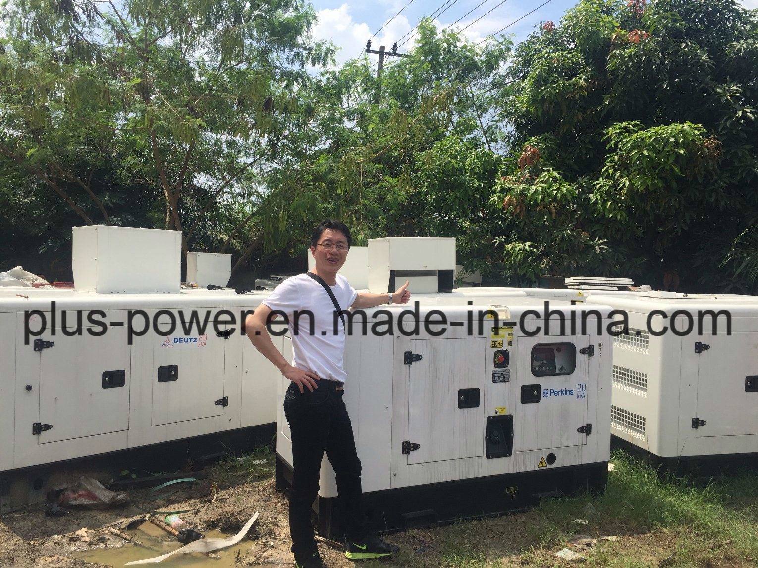 [Hot Item] Silent/Soundproof /Open Power Diesel Electric Generator with  Perkins (10kVA 15kVA 20kVA 30kVA 45kVA 60kVA)