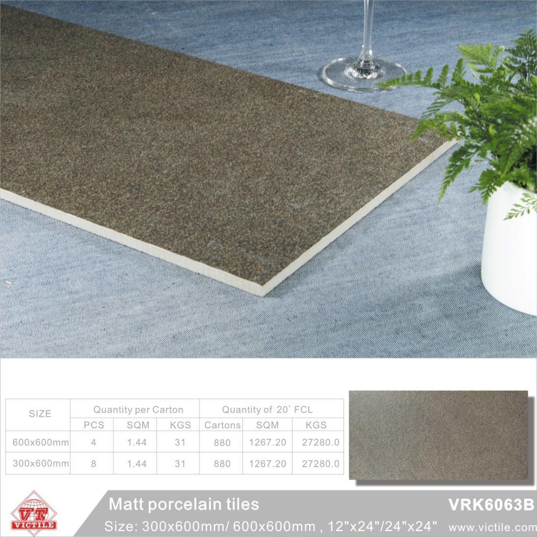 China Ceramic Floor Tile Building Material Rustic Tiles (VRK6063B ...