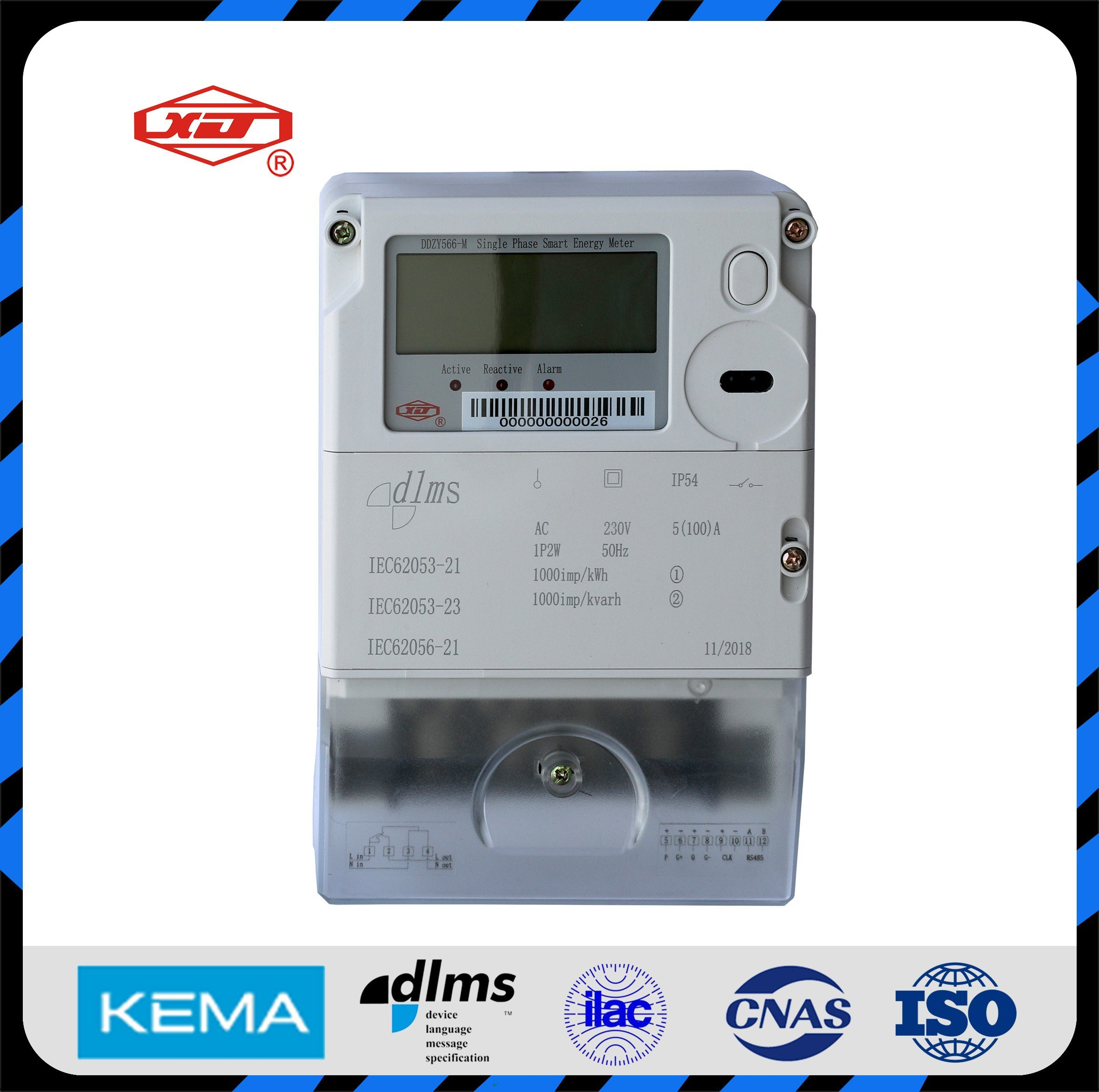 Three Phase Ami Smart Meter Energy Meter Power Meter