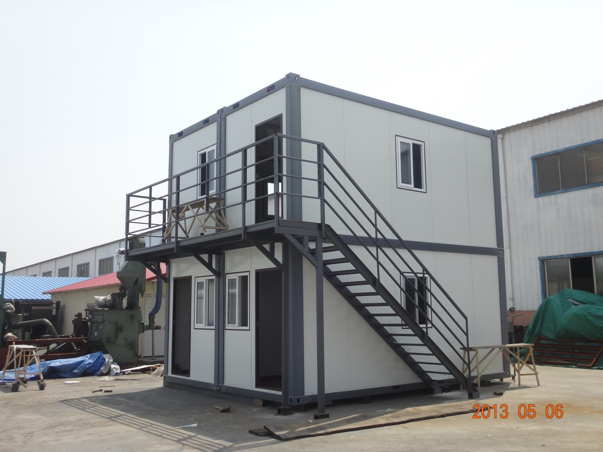 China Light Weight Fiber Cement Sandwich Board fice Container