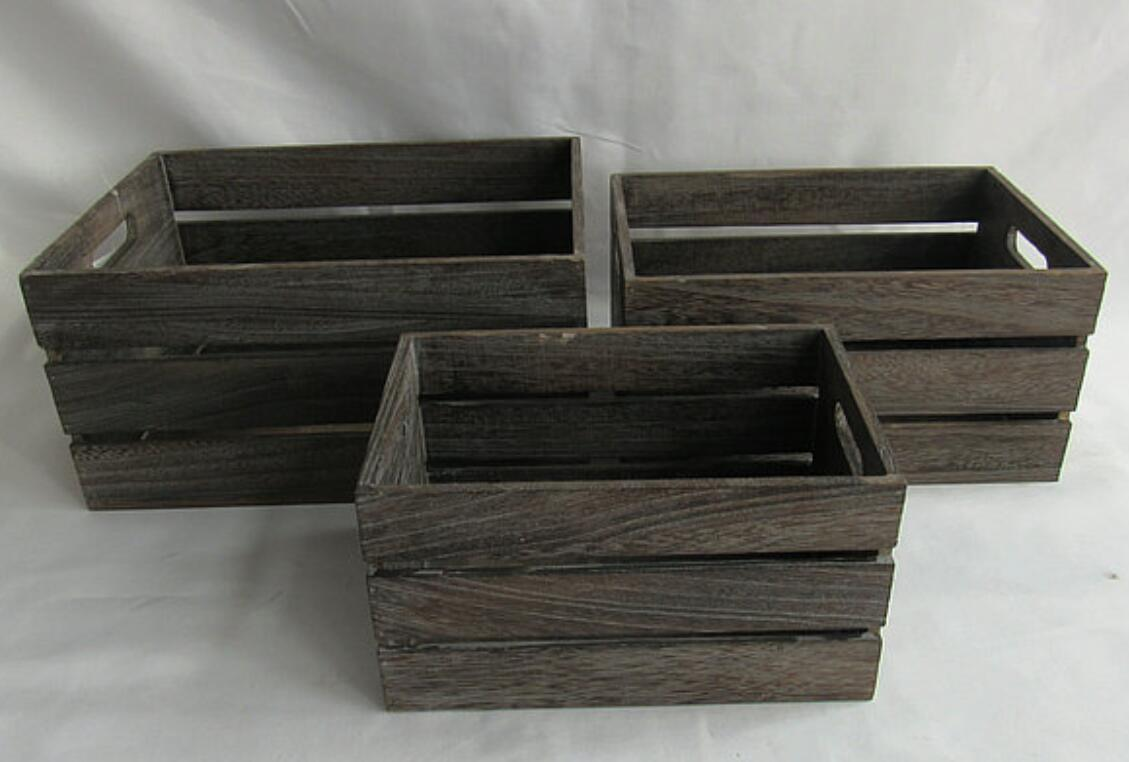 China Wooden Wine Basket Box Beer