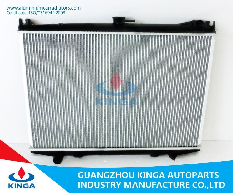China Efficient Cooling Car Radiator For Nissan Hardbody92 95 D21d