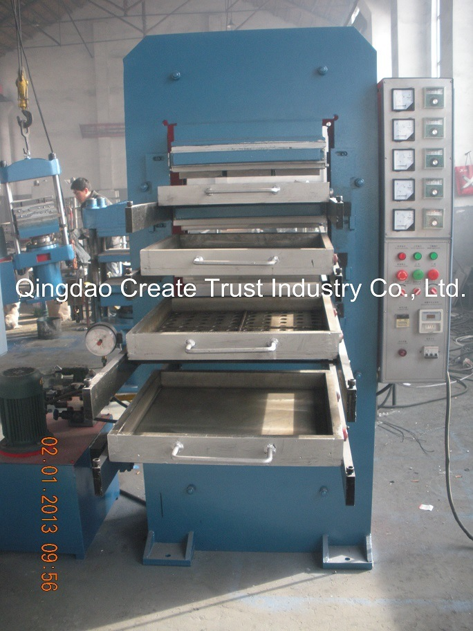 China 500500mm Rubber Floor Tile Making Machine China Rubber