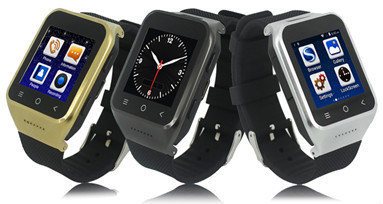 Android Smart Watch Phone with GPS/WiFi/3G Mobile Watch Phone
