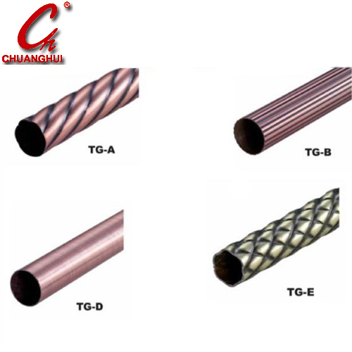 Furniture Hardware Rod Tube Pipe Line Rod Curtain Accessory