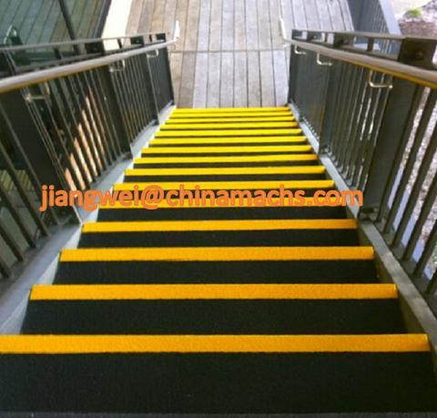Fiberglass Stair Tread Cover, Fiberglass Resin Nosing, FRP/GRP Step Cover