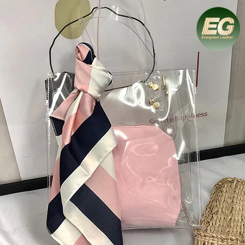 870cdd807dc5 China Custom Designer PVC Transparent Plastic Bag