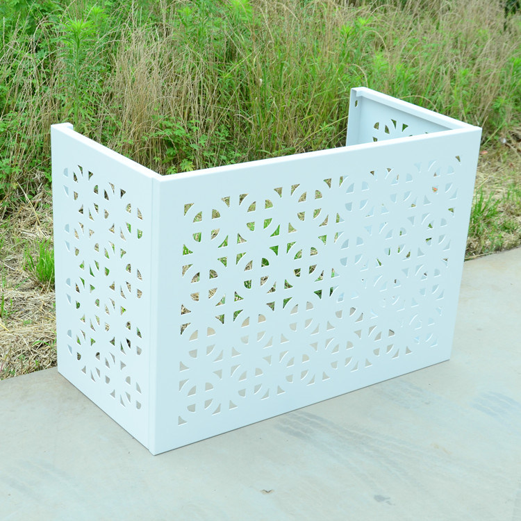 China Aluminum Air Conditioner Box, Outdoor Air Conditioner Covers