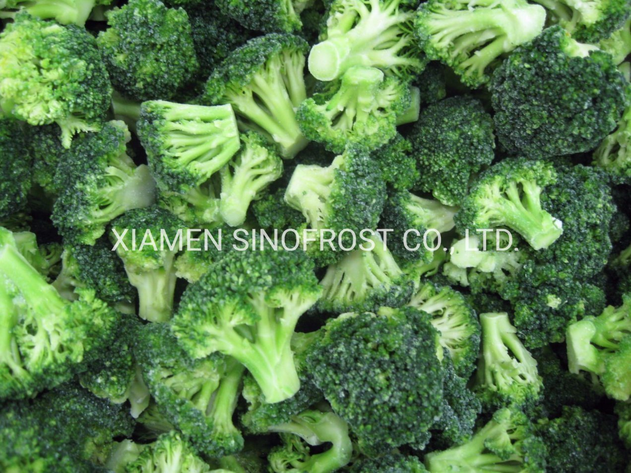 Low Prices Good Quality, New Crop IQF Cut Broccoli, Frozen Cut Broccoli, IQF Broccoli Cuts, Frozen Broccoli Cuts pictures & photos