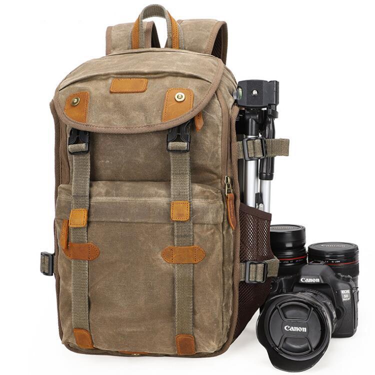 Laptop Lens Tripod Dslr Camera Bag
