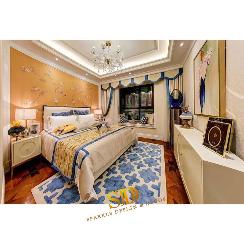 China Home Bedroom Carpet Ideas Simple Geometric Style Hand Tufted Area Rug Carpet China House Carpet Cost And Wool Carpet Bedroom Price