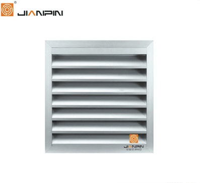 [Hot Item] Ductwork Rectangular/Round Fixed Vanes Weater Louver Vent Grill  for HVAC Units
