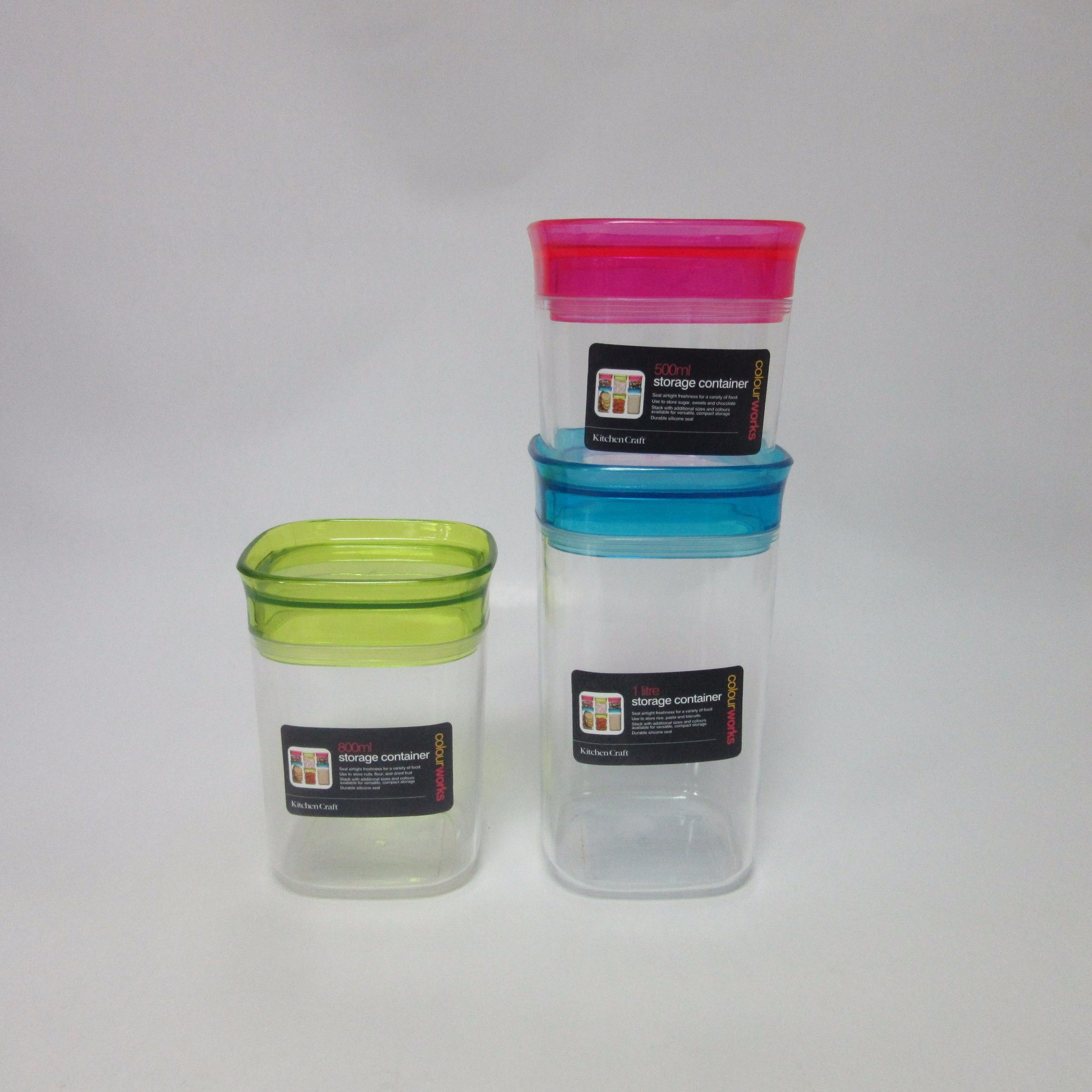 Airtight Storage Jar - 500ml Plastic Storage Box