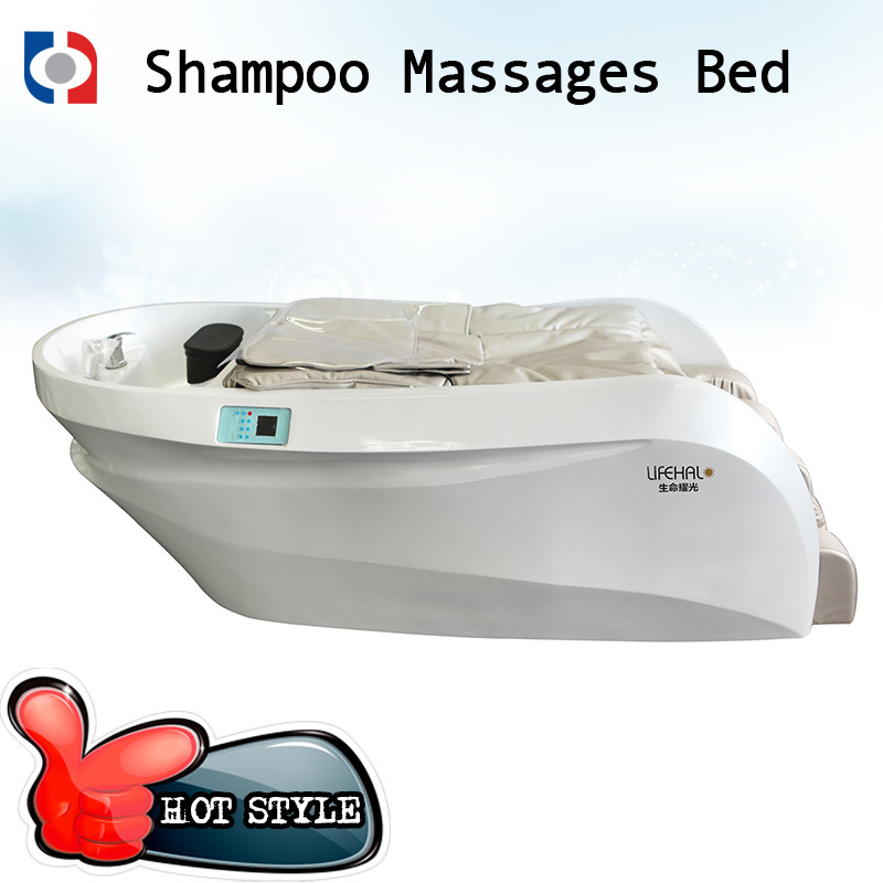 Top Class Hair Salon Massage Shampoo Chair / Hair Washing Massage Bed pictures & photos