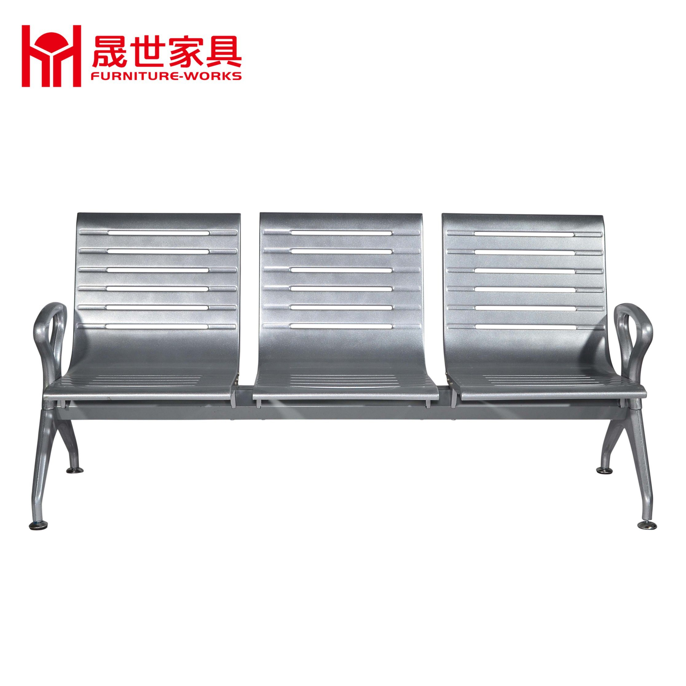 [Hot Item] Cheap Price Hospital Arm Chair 10.10.10.10-Seater Metal Steel Chair  Lounge Number Waiting Area