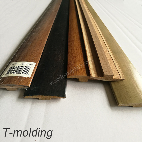 China Flooring Accessories Mdf T Moulding For Wood Flooring China