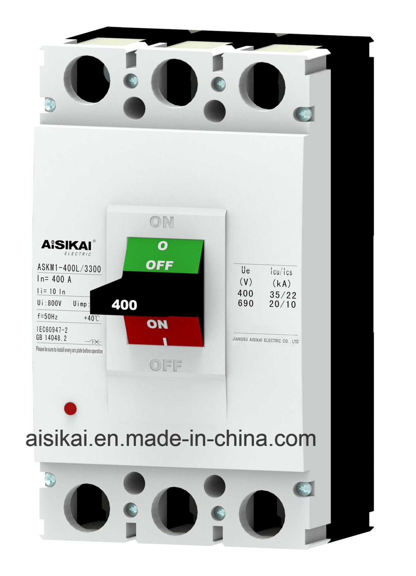 China Molded Case Circuit Breaker Mccb Best Selling New Developed Arc Breakers Style