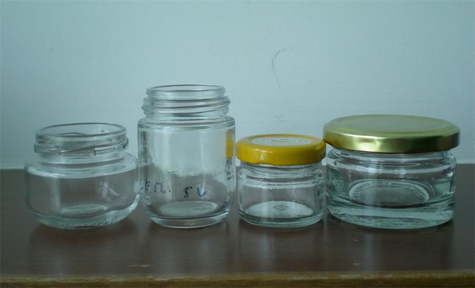 China Mini Glass Food Jar Small Glass Food JarGlass Food Container