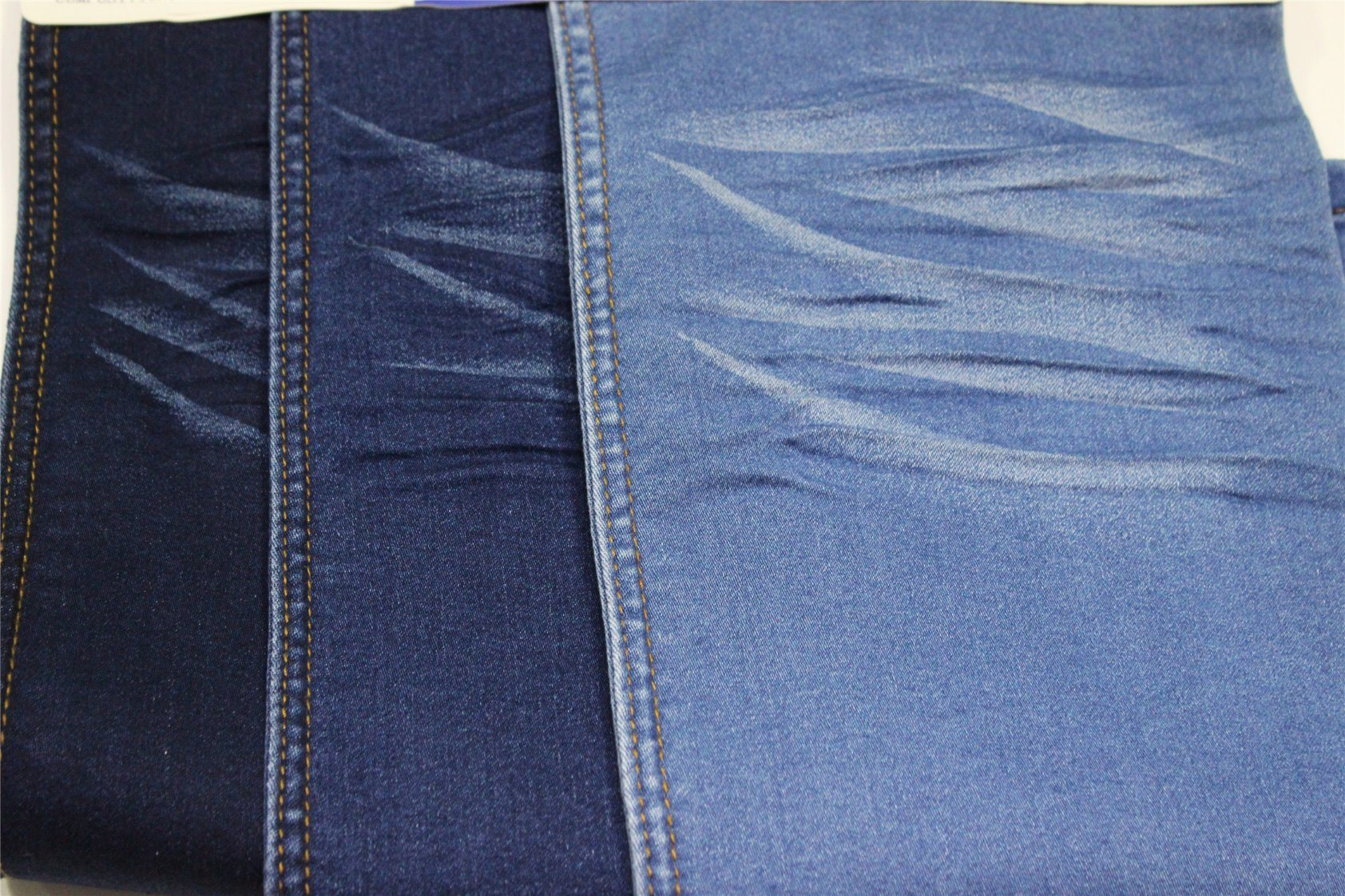 Cotton Polyester Spandex Denim With Rayon