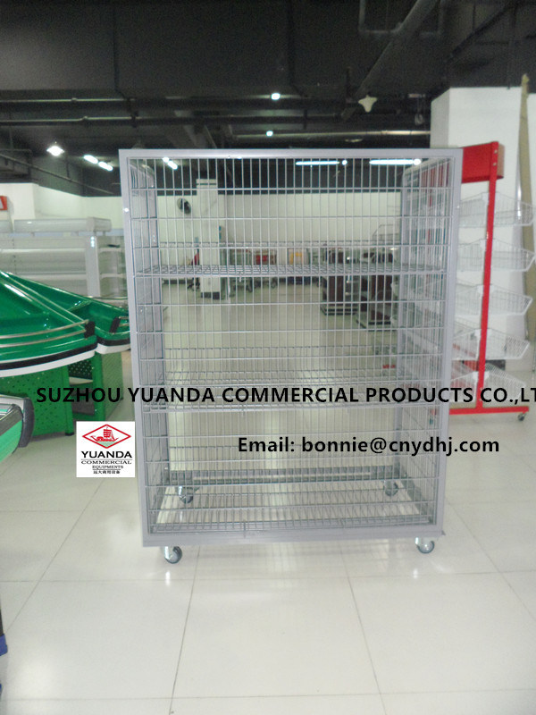 Foldable Rolling Cage, Roll Container