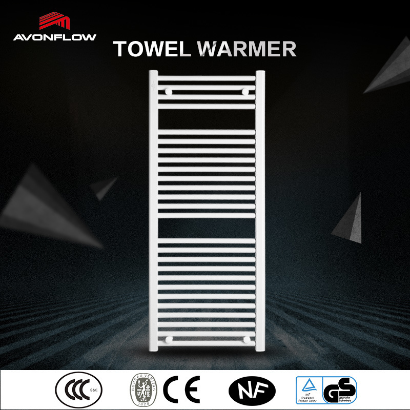 Avonflow White Electric Heated Bathroom Towel Warmer (AF-CN)