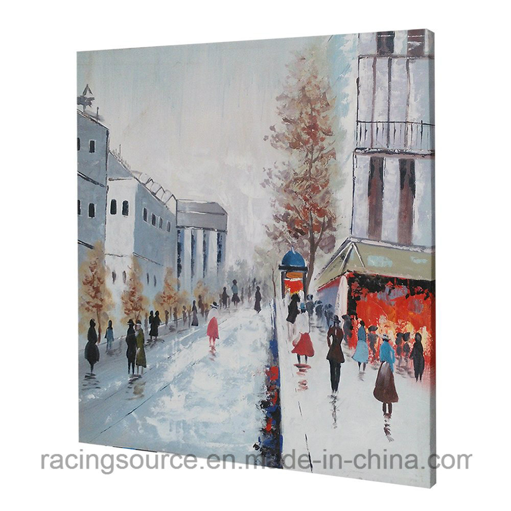 Wall Art Romantic City Scape Art Canvas Printing for Home Decor pictures & photos