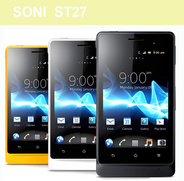 Wholesale Soni St17/St18/St21/St25/St26/St27 Cell Phone/Cheap Phone