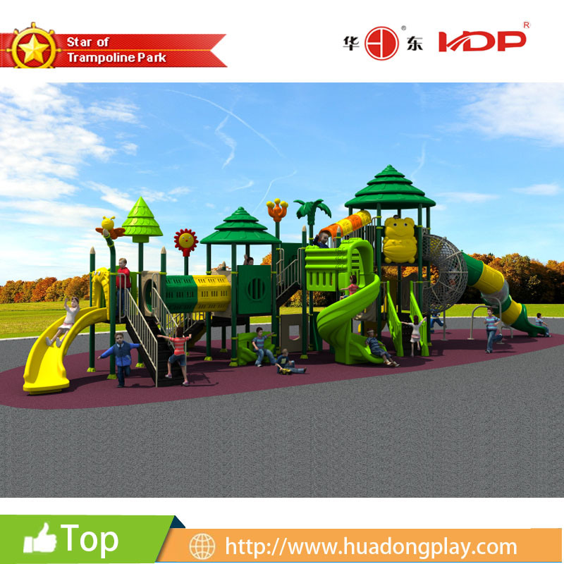 2016 Latest High-Quality Outdoor Playground Equipment Slide (HD16-029A)