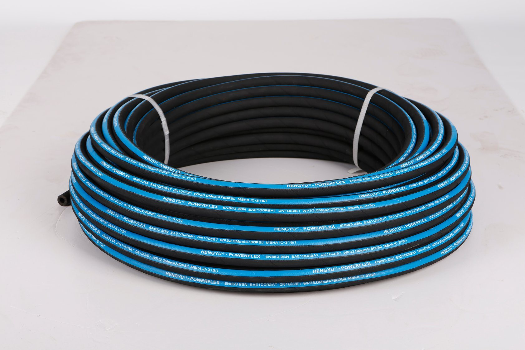 China SAE100r2at DIN En853 2sn Fabric Cover High Pressure Rubber ...