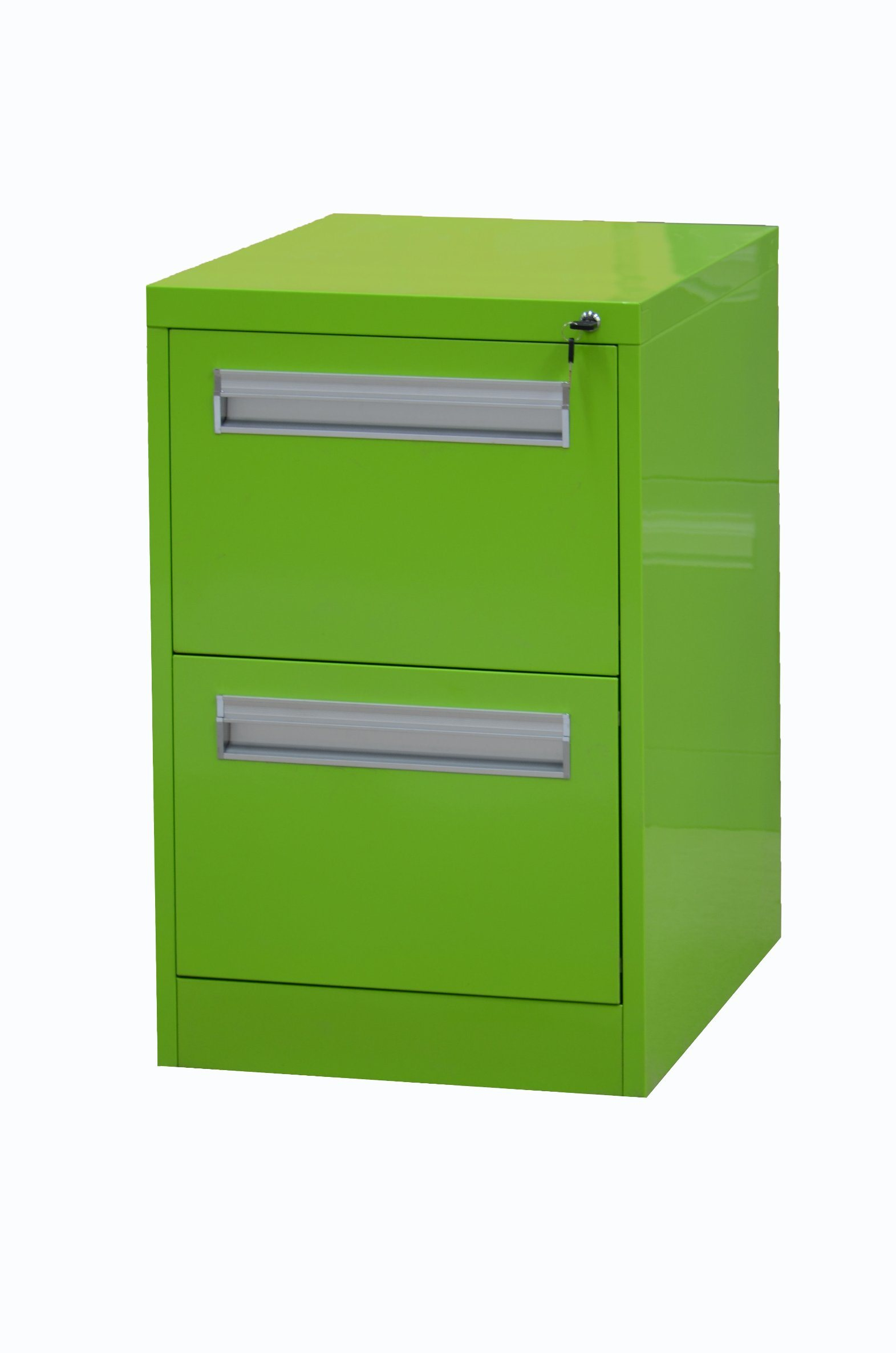 China Roll Over Construction Vertical 2 Drawers Filing Cabinet